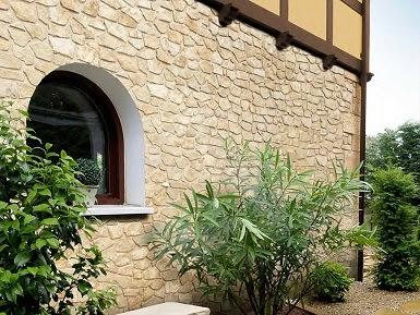 Fachadas de piedra fachadas de casas con piedra artificial - Facciata esterna casa ...