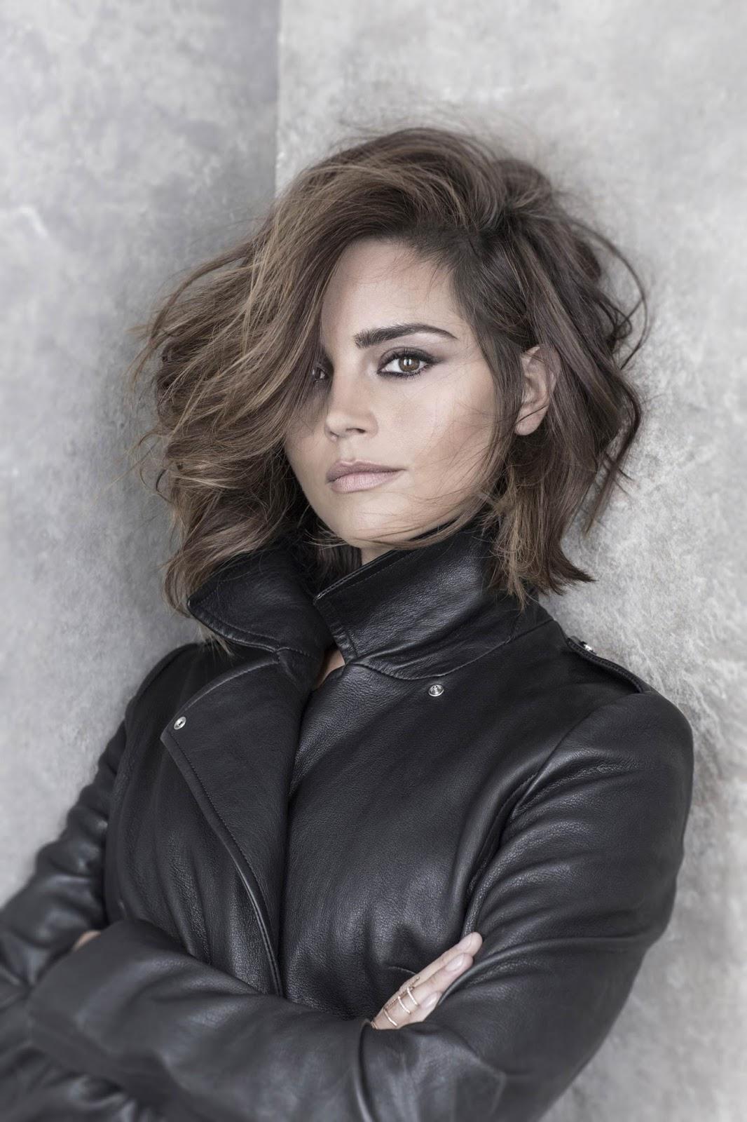 Leather jacket photoshoot - Tuesday 6 October 2015