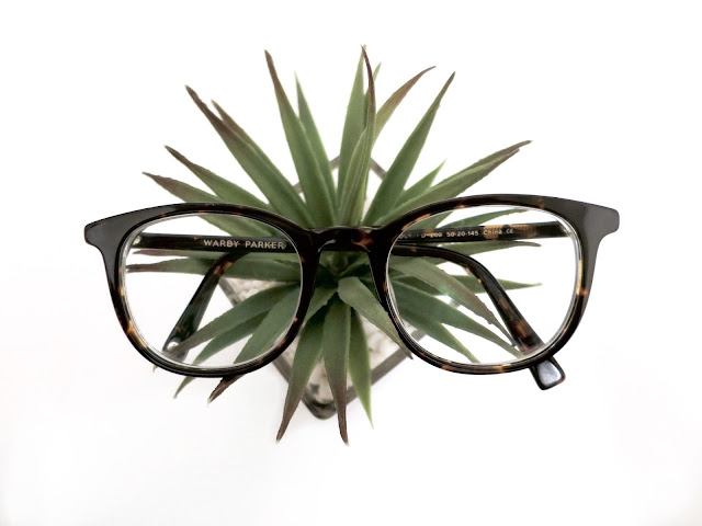 plant, warby parker, glasses
