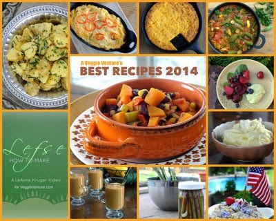 Want to eat more vegetables? Find new ideas and inspiration in A Veggie Venture's Best Vegetable Recipes of 2014. Many vegetarian, vegan, #LowCarb, #WeightWatchers friendly and paleo recipes.