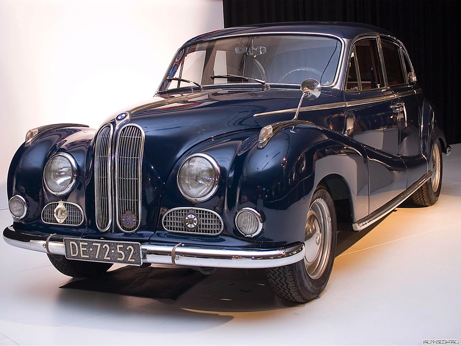 1952 1964 BMW Car 501