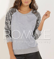 rome sequined sweater