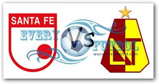 Ver Santafe Vs Tolima Online en Vivo – FPC Liga Postobon 12 de Diciembre