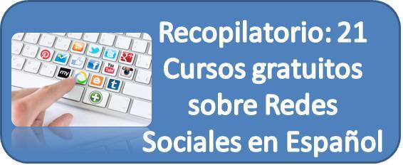 Redes Sociales, Cursos, Aprender, Gratis, Aprendizaje, Español,