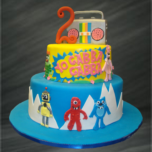 Birthday Cake: Yo Gabba Gabba Birthday Cake