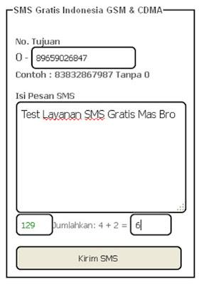 Tips Cara Kirim SMS Gratis Tanpa Pulsa ke Indonesia