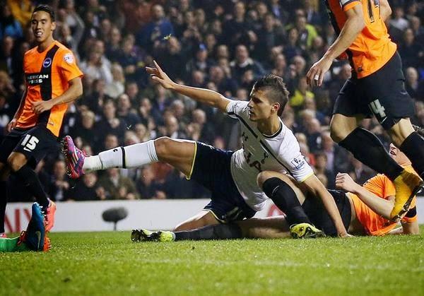 Hasil Capital One Cup Terbaru: Tottenham vs Brighton 2-0