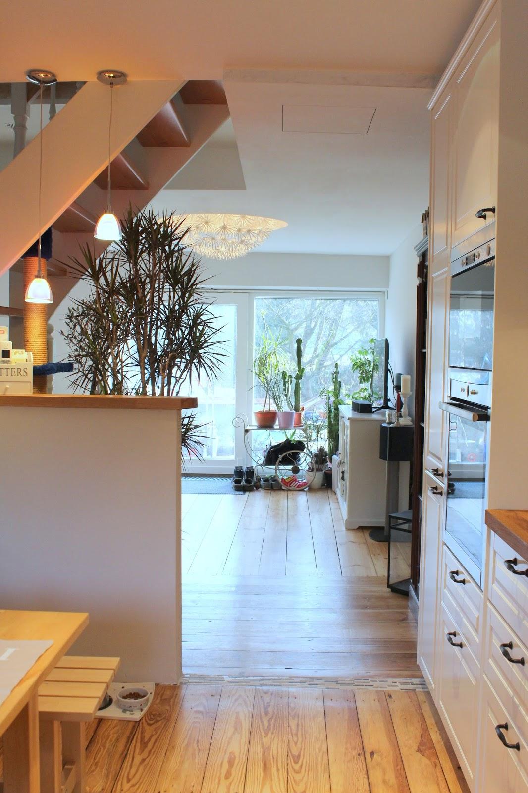 Frau Keks's Welt: Rundgang Wohnzimmer und Küche - Hausbau