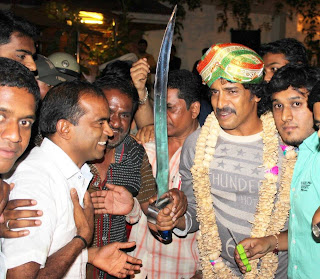 RealStar Upendra Celebrate the Birthday with fans