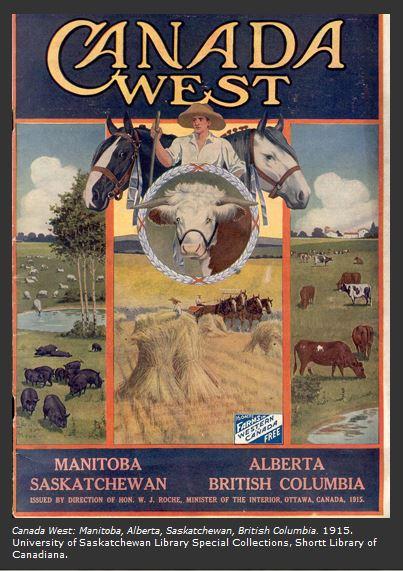 Western Canada 1915