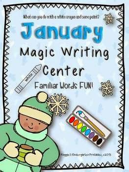 http://www.teacherspayteachers.com/Product/January-Magic-Writing-Center-Activity-923857