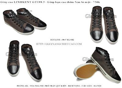 Giày nam đẹp GT199. 5
