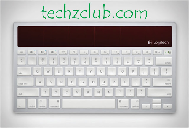Logitech Solar Wireless Keyboard K760