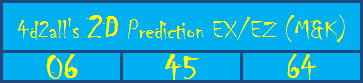4d2all 2d prediction tips for today