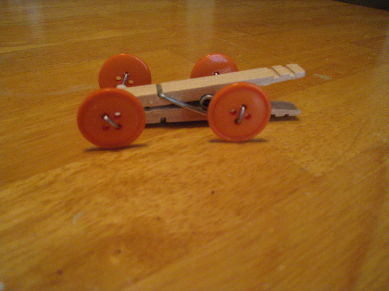 crafts 4 camp clothespin race car