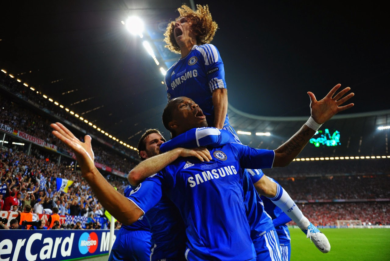 2012 Champions League Final - Chelsea v Bayern Munich