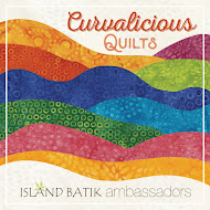 Curvalicious Quilts with Island Batik
