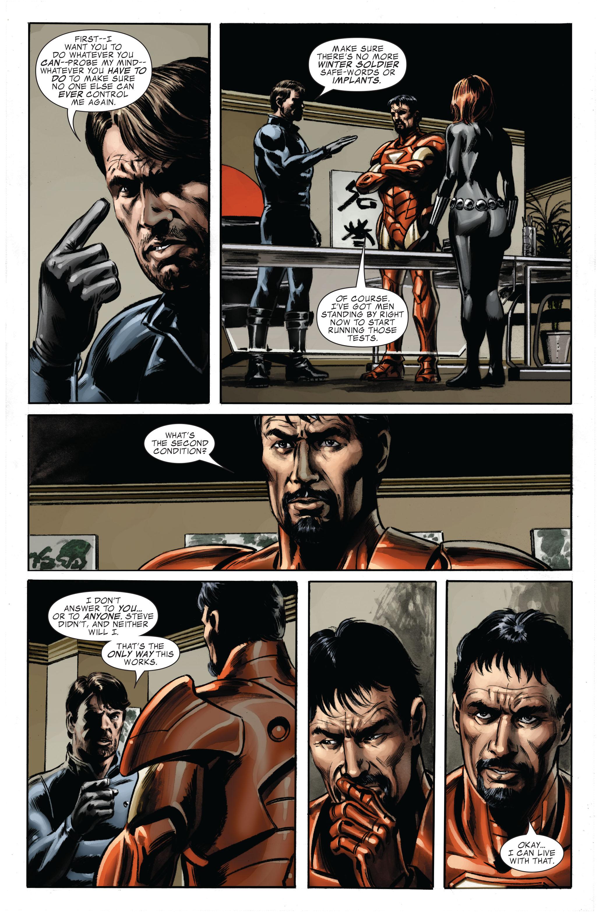 Captain America (2005) Issue #33 #33 - English 24