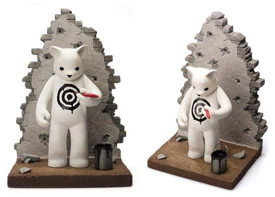 OG Black Target Vinyl Figure by Luke Chueh