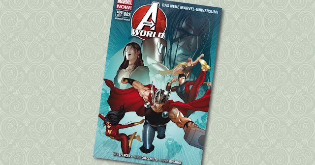 Avengers World 3 Panini Cover