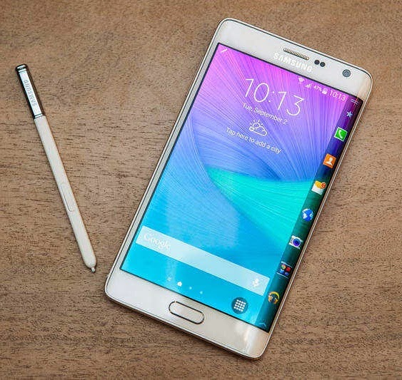 New Edge Galaxy Note