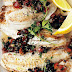 Tilapia With Olive Salsa And Spinach Orzo Recipe