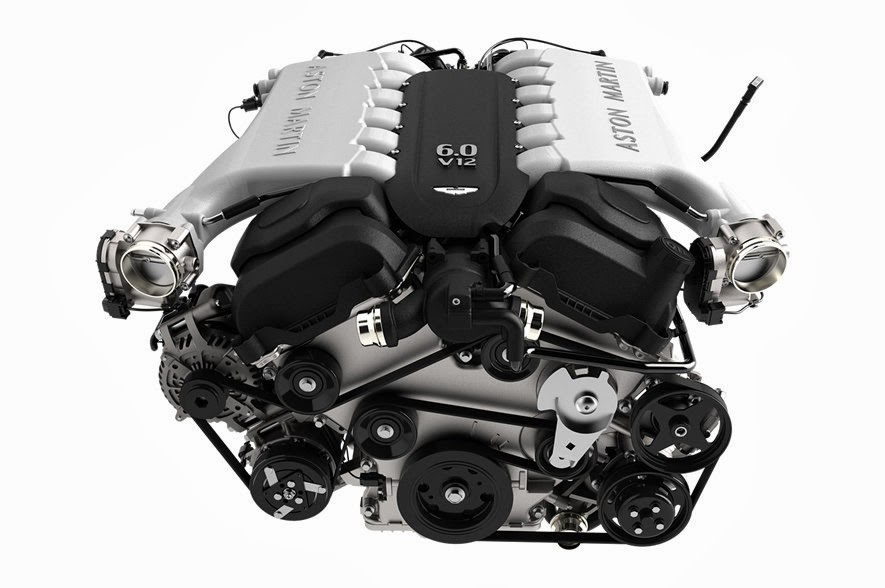 The New Aston Martin DB9 Volante Engine