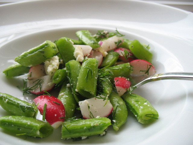 Sauteed Radishes And Sugar Snaps With Dill Recipes — Dishmaps