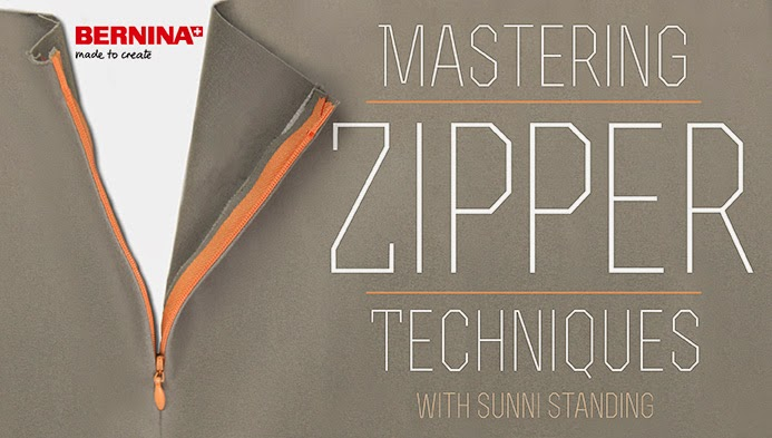 Free online sewing class mastering zipper techniques from Craftsy