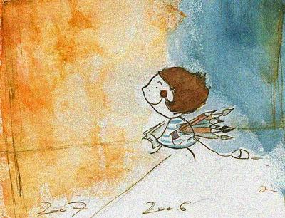 Felicidade, reflexão, artigo de opinião, Vanessa Vieira, Ilustração: Irisz Agocs