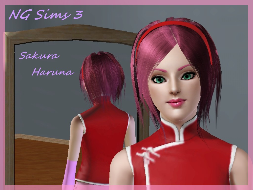 NG Sims 3: My Anime Sims : Sakura Haruna