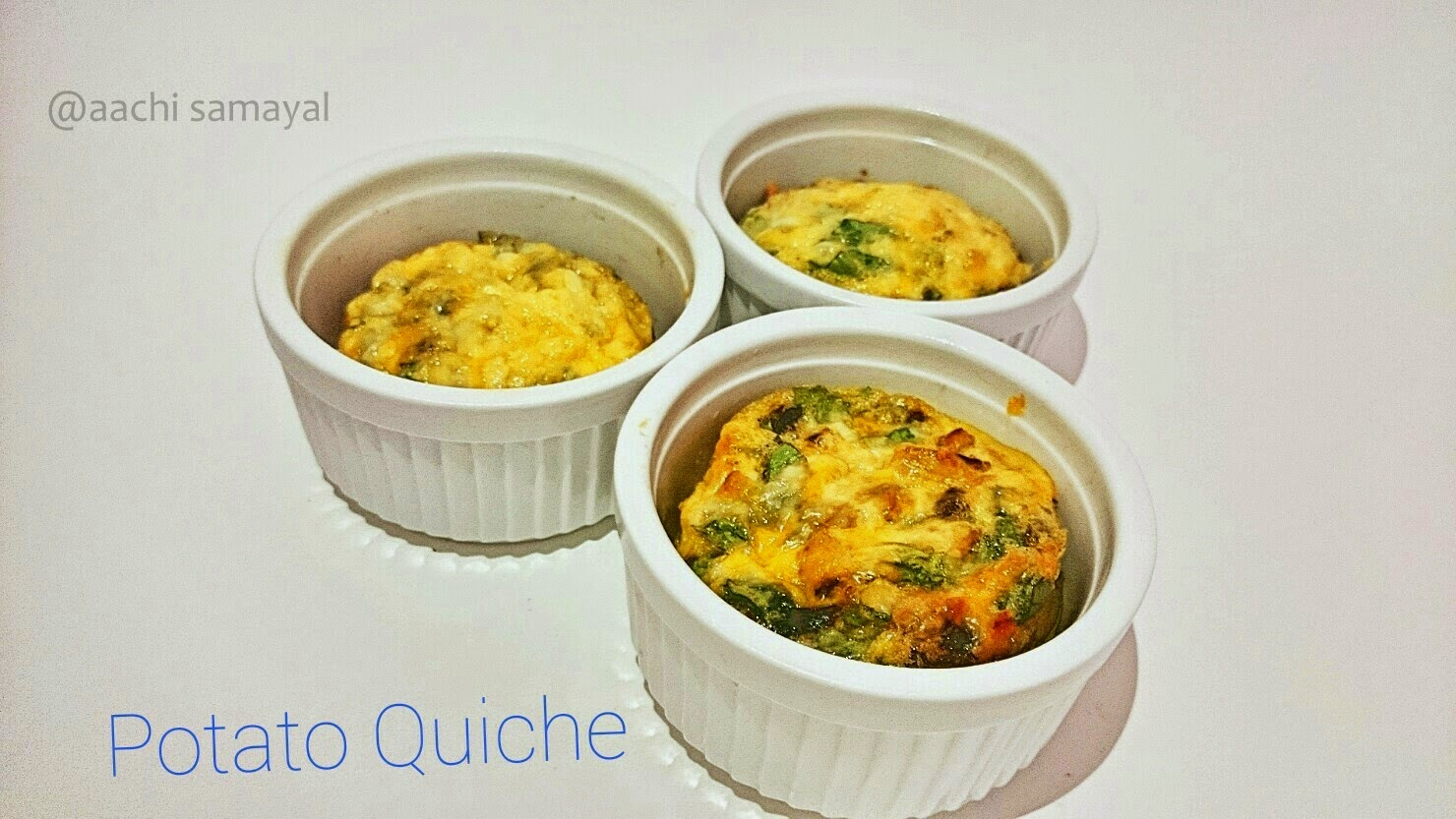Potato Quiche Banner