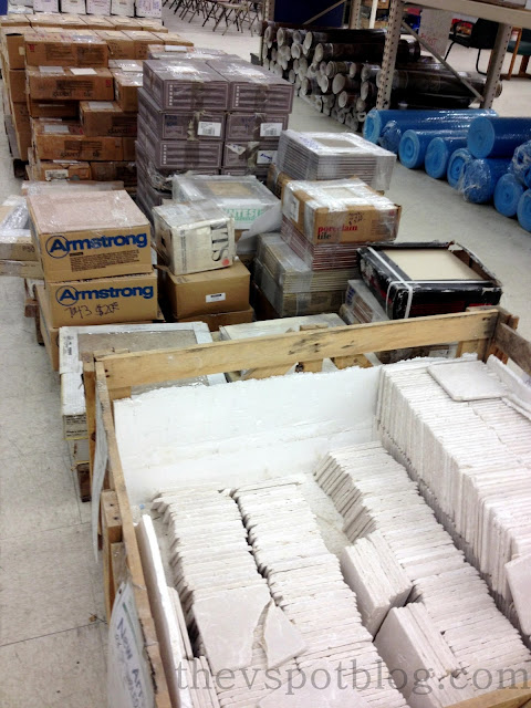 tile, building supplies, habitat restore, habitat for humanity