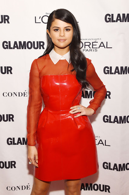 Actress, Singer @ Selena Gomez - Glamour Women of the Year Awards in NYC