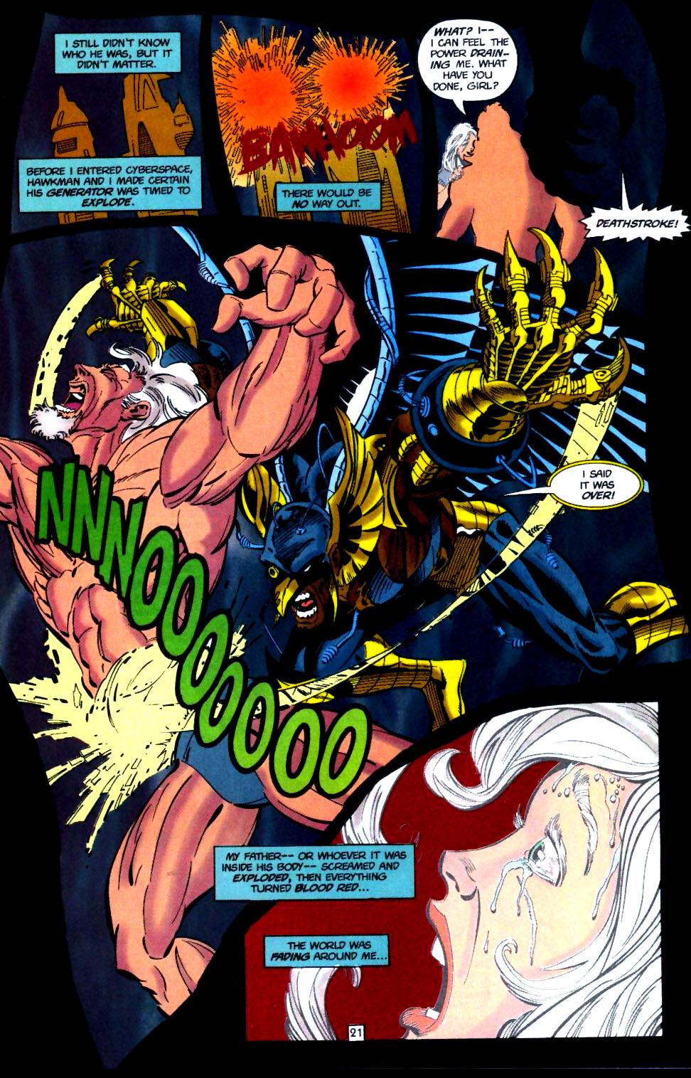 Deathstroke (1991) Issue #51 #56 - English 22