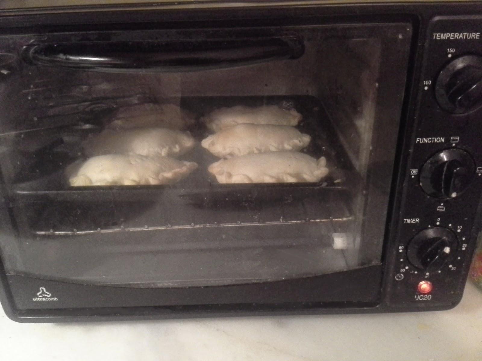 Empanadas en horno electrico cuanto tiempo