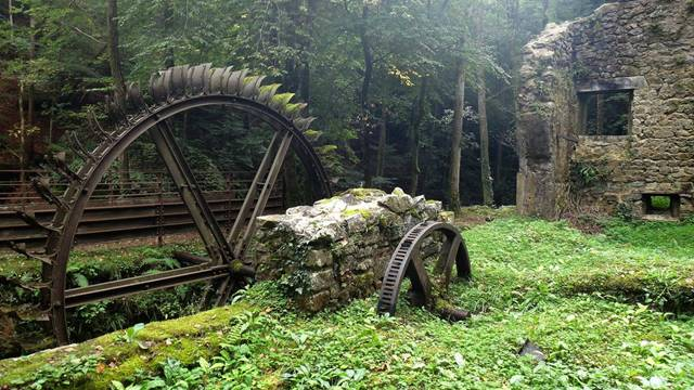 10. Abandoned Blade Mill, France