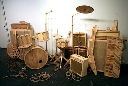Ciencia ficci n en madera quiero m s dise o - Cosas hechas con madera ...