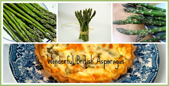 Asparagus, Goats' Cheese & Pesto Tartlets