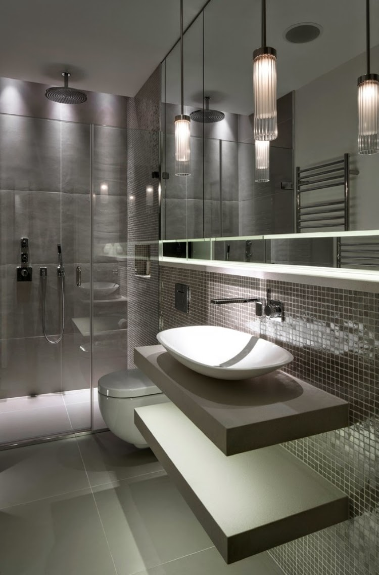 Bathroom tile 2015 7 current design trends in the bathroom for Trends in bathroom tile