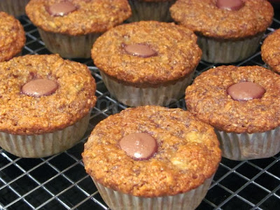 Healthy Banana Muffins   www.mommymoment.ca