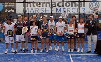 Ganadores Padel Pro Tour Madrid 2011
