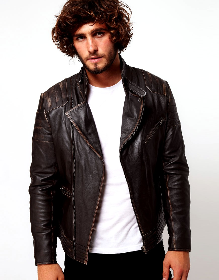 Premium, slim fit leather jackets made from soft yet durable full-grain cowhide. These jackets are made outside of Italy, so naturally, the cost is less but the standard is still high. Synthetic.