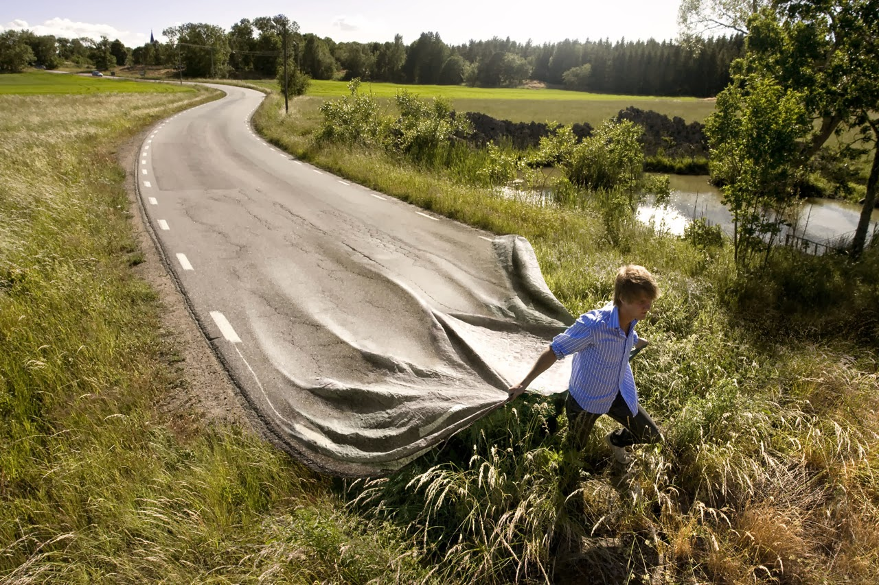 Go your own road, Erik Johansson