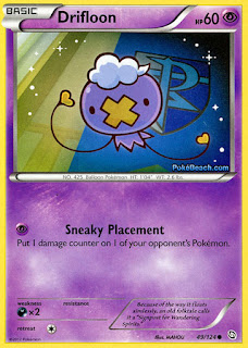 Drifloon Dragons Exalted Pokemon Card