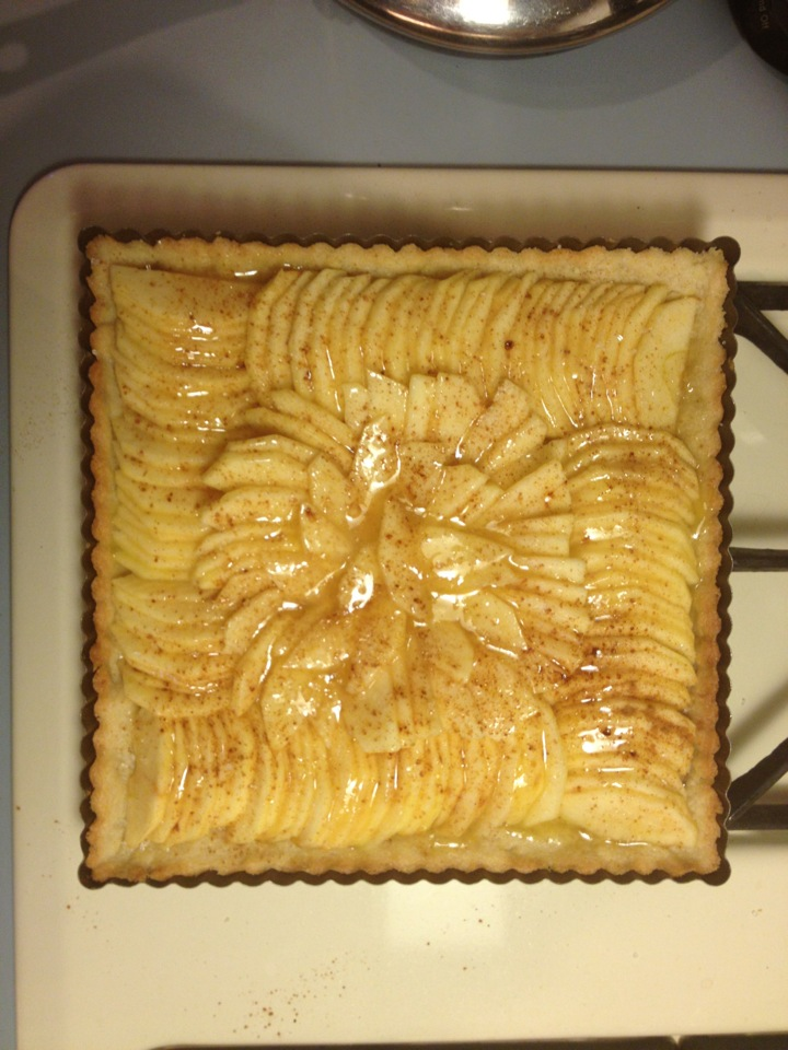 Hungry Hungry Highness: French Country Apple Tart