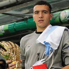 Matías Cubero será premiado en la Gala de la FIFA