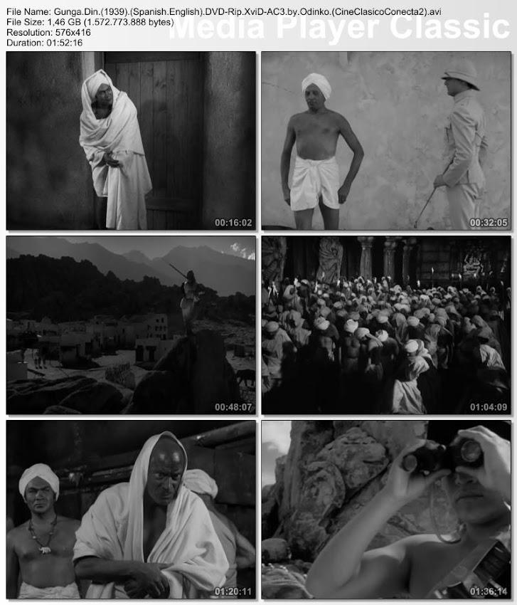 Gunga Din 1939 | Capturas de pantalla - Secuencias de la película