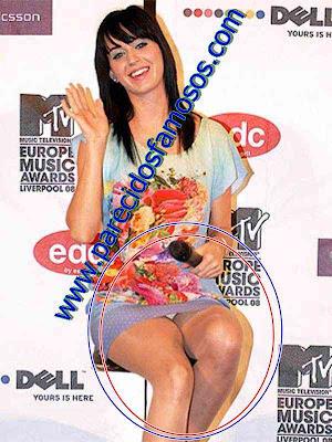 Katy Perry Descuidos de Famosos