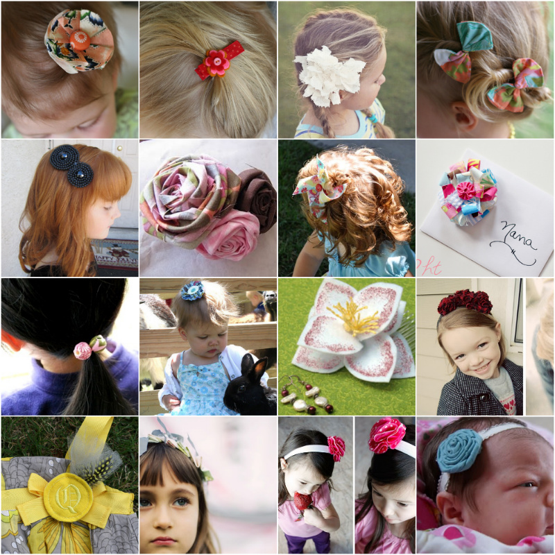 I Like Big Bows: 25 Free and EASY hair bow tutorials